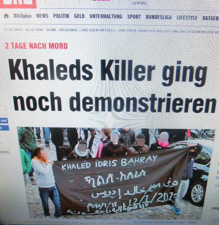 HassanSalehBildzeitungDemoDresden15
