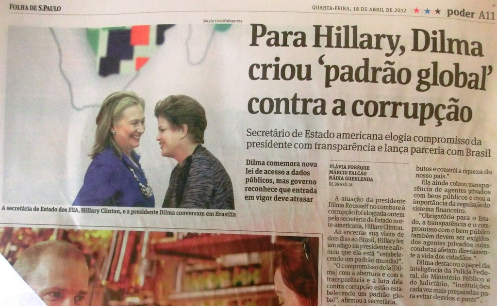 HillaryClintonRousseffKorruption 2012