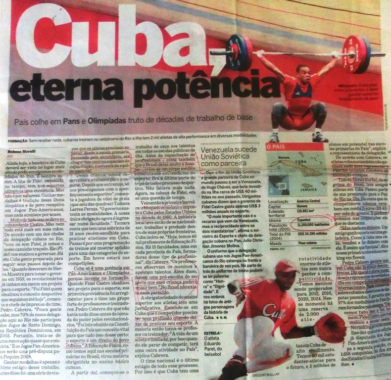 KubaSportpolitikGlobo1