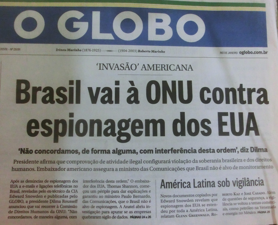 BrasilienUSSpionageUNO1