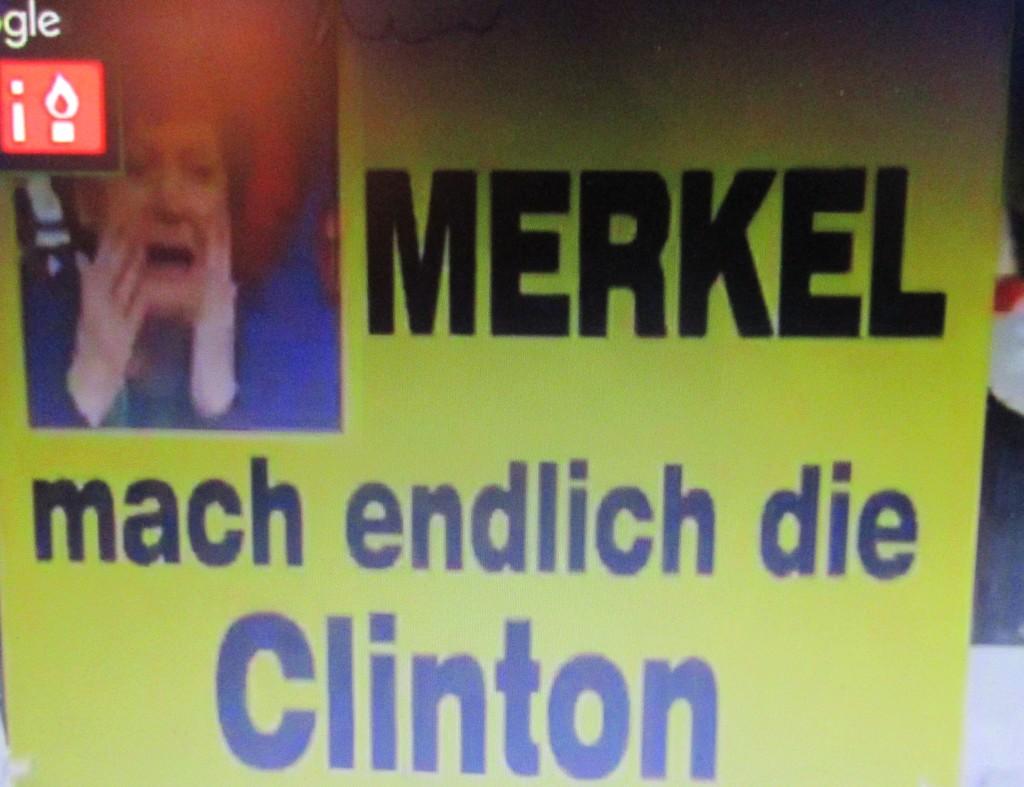 MerkelClintonPegida17