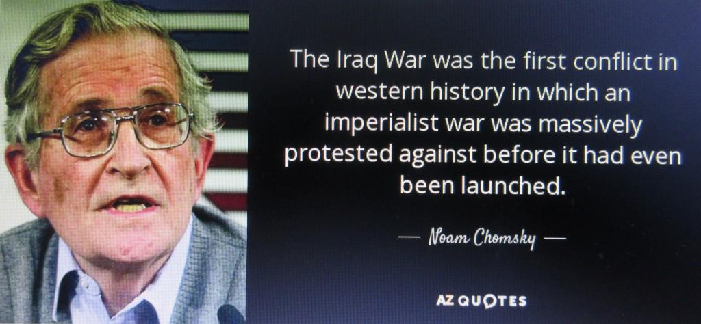 IrakkriegChomsky