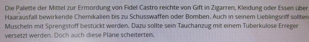 CastroGiftanschläge1